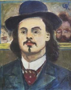 Alfred Jarry - ritratto di Augustin Grass-Mick, 1897
